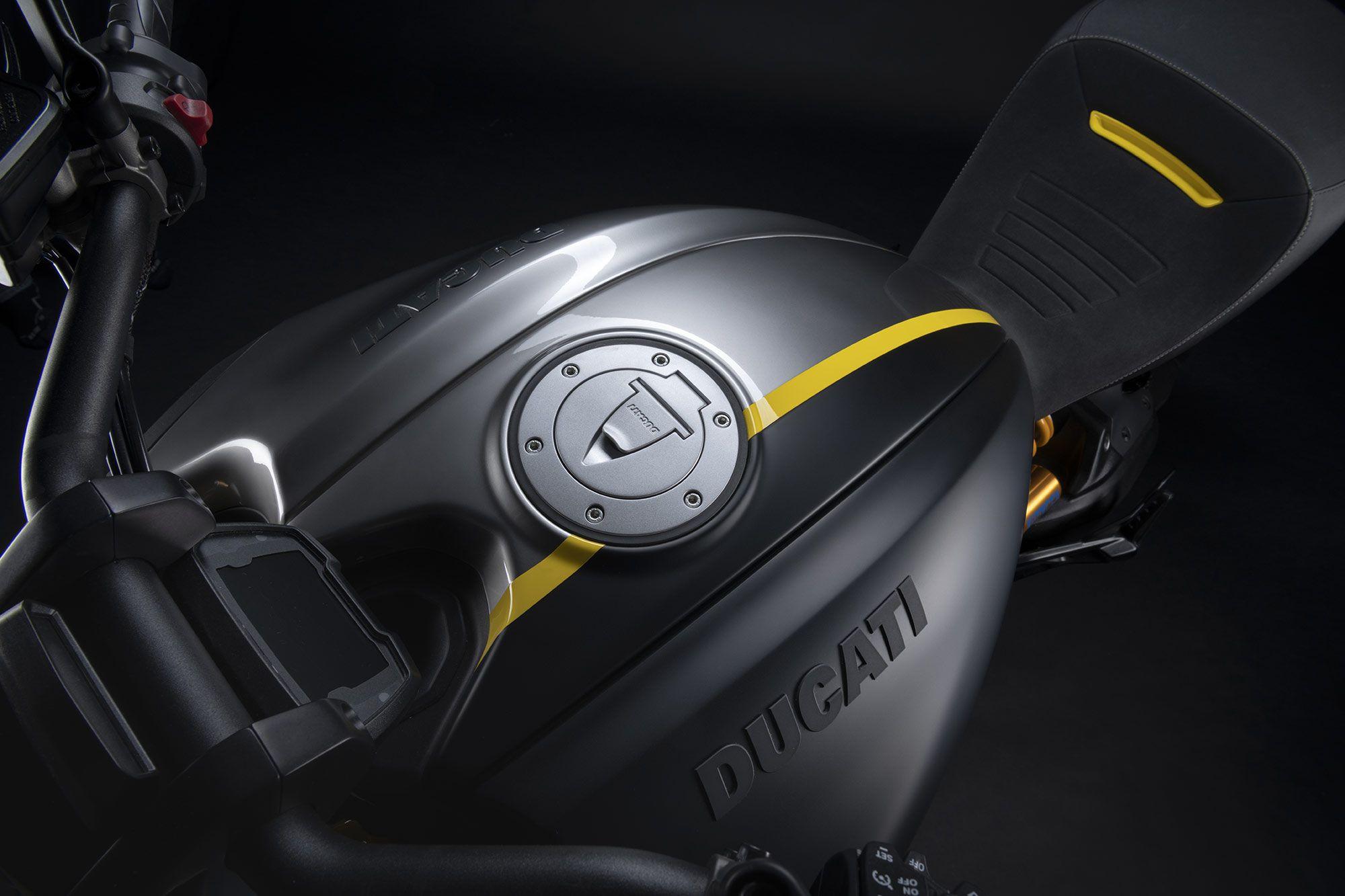 Ducati blijft stijl en inhoud versmelten.