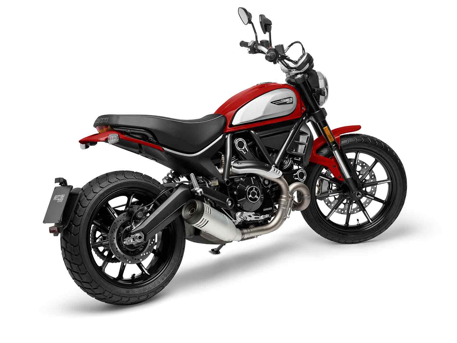 Rep your Ducati Red on with this Scrambler Icon livery in 2021.