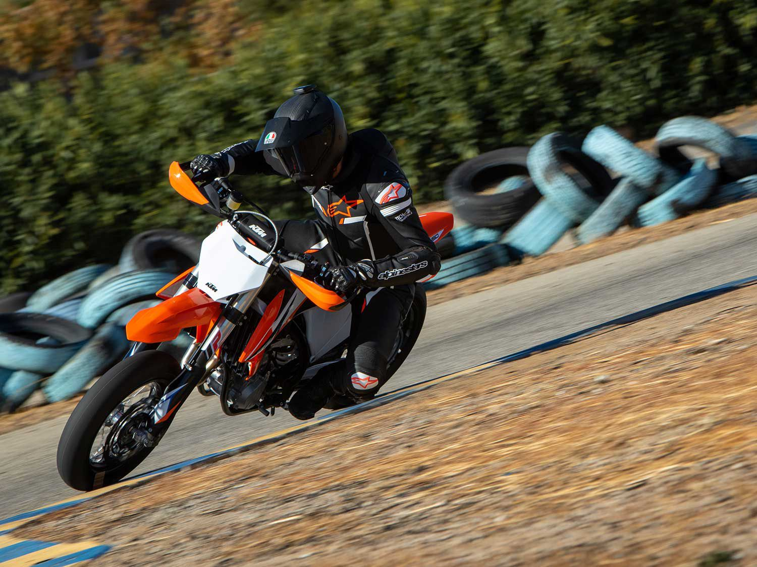 Supermoto junkies rejoice as KTM imports its 450 SMR into the North American market for the 2021 model year.