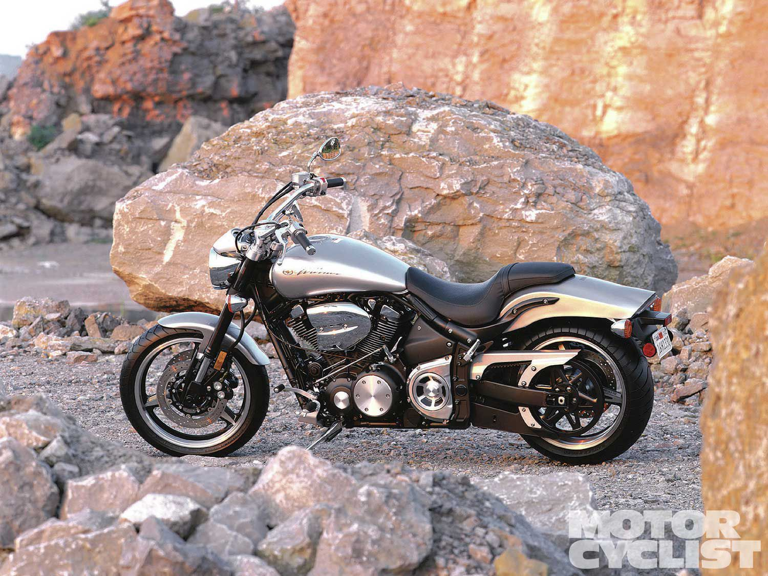 The Road Star Warrior remains desirable today for its aluminum chassis, hot-rod air-cooled motor, and sportbike suspension and brakes.