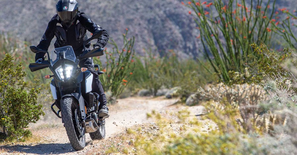 2020 KTM 390 Adventure Review First Ride