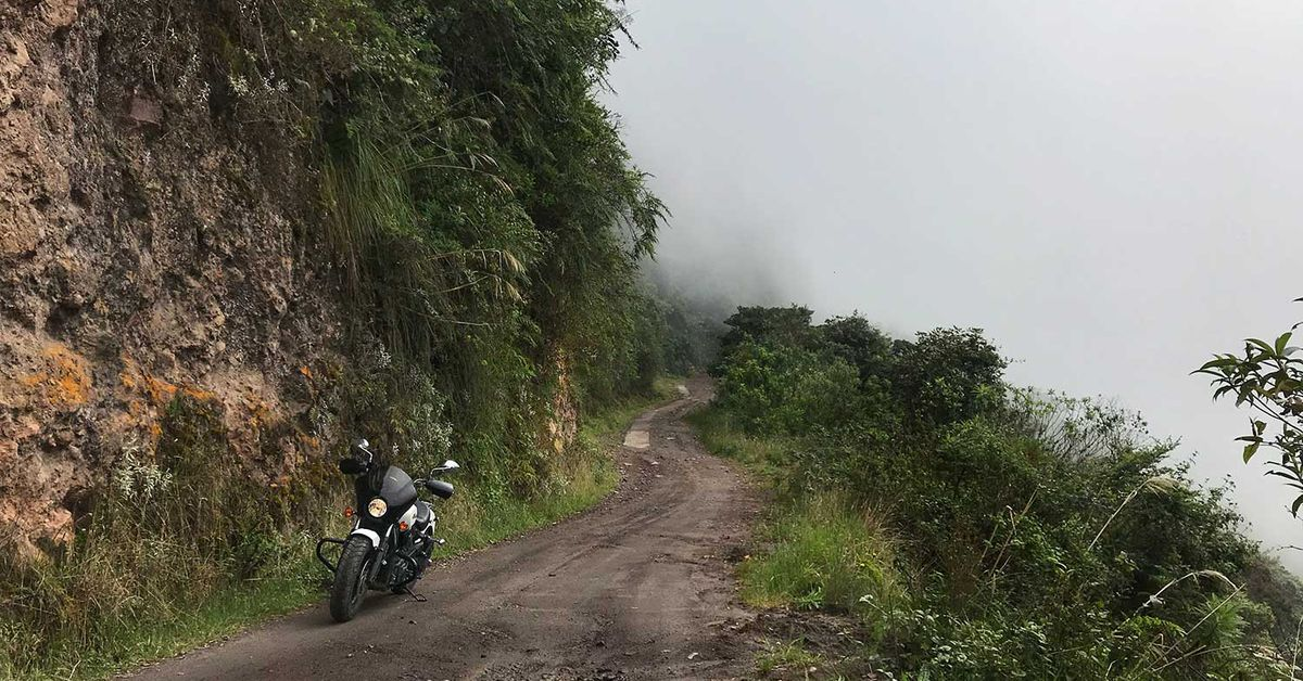 Motorcycle Riding To Where Bears Gather