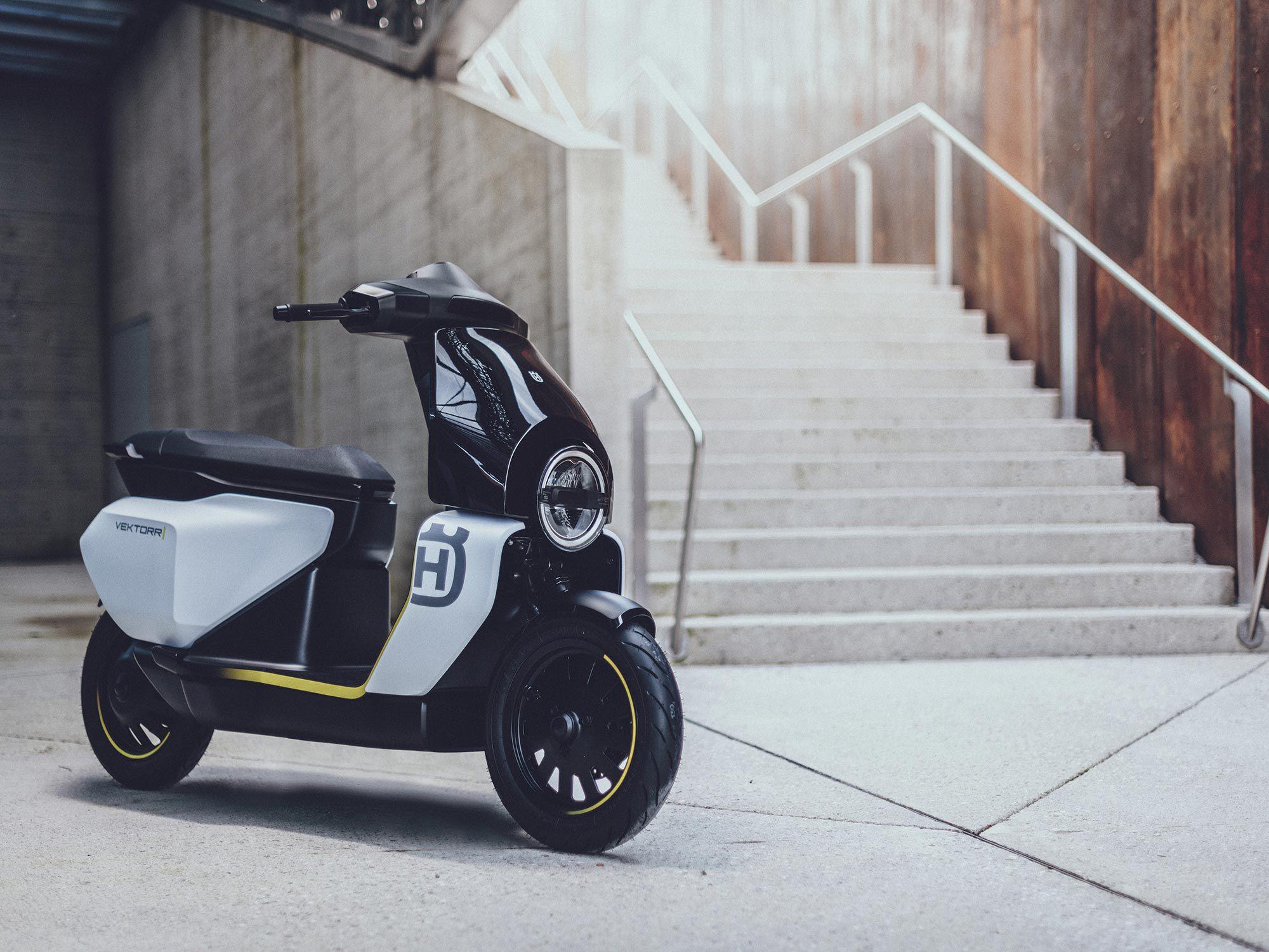 Het Vektorr Concept voegt zich bij Husqvarna's groeiende emobiliteitslijn.