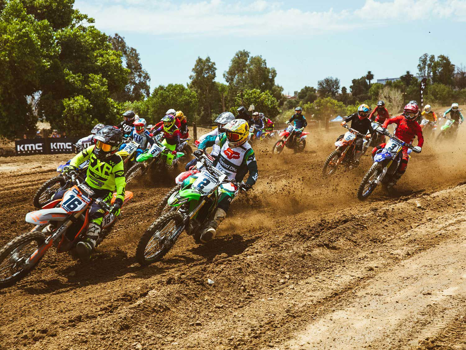 This summer marked the 21st running of Surfercross, a competition that pits dirt bike racers against surfers. Two-man teams are chosen at random, from a lottery.