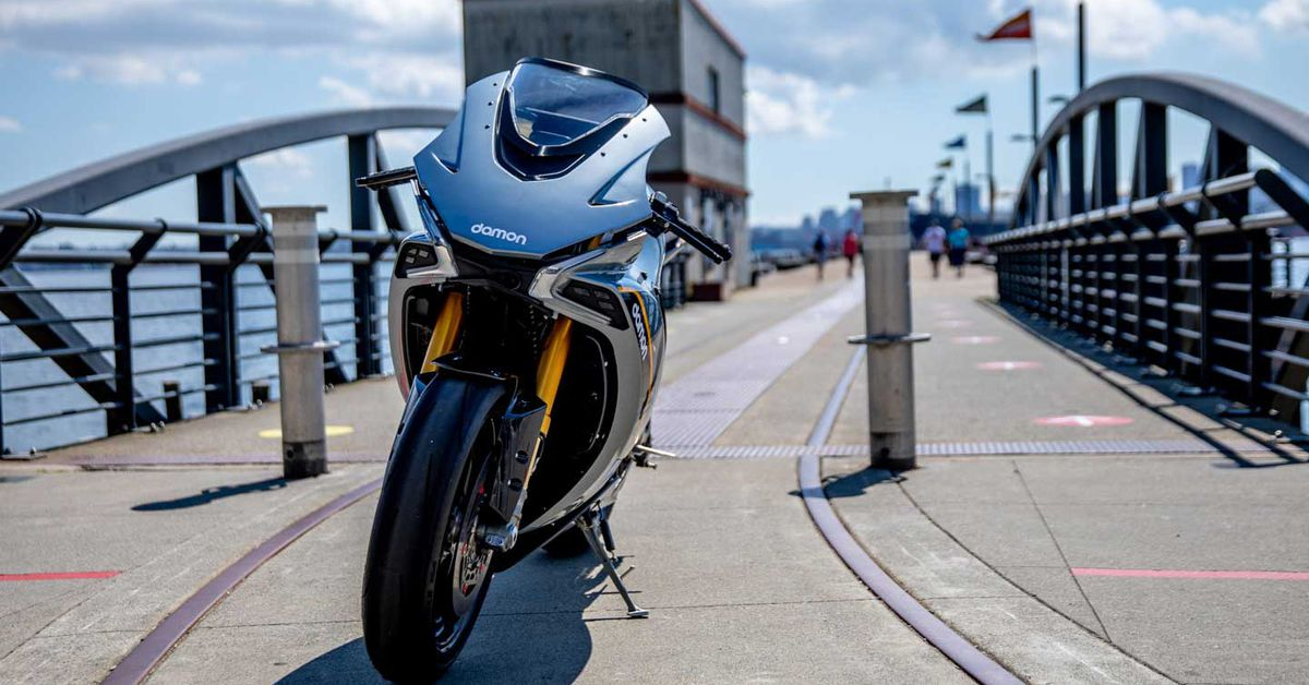Test Ride A Damon Motorcycles Electric Hypersport In 2021