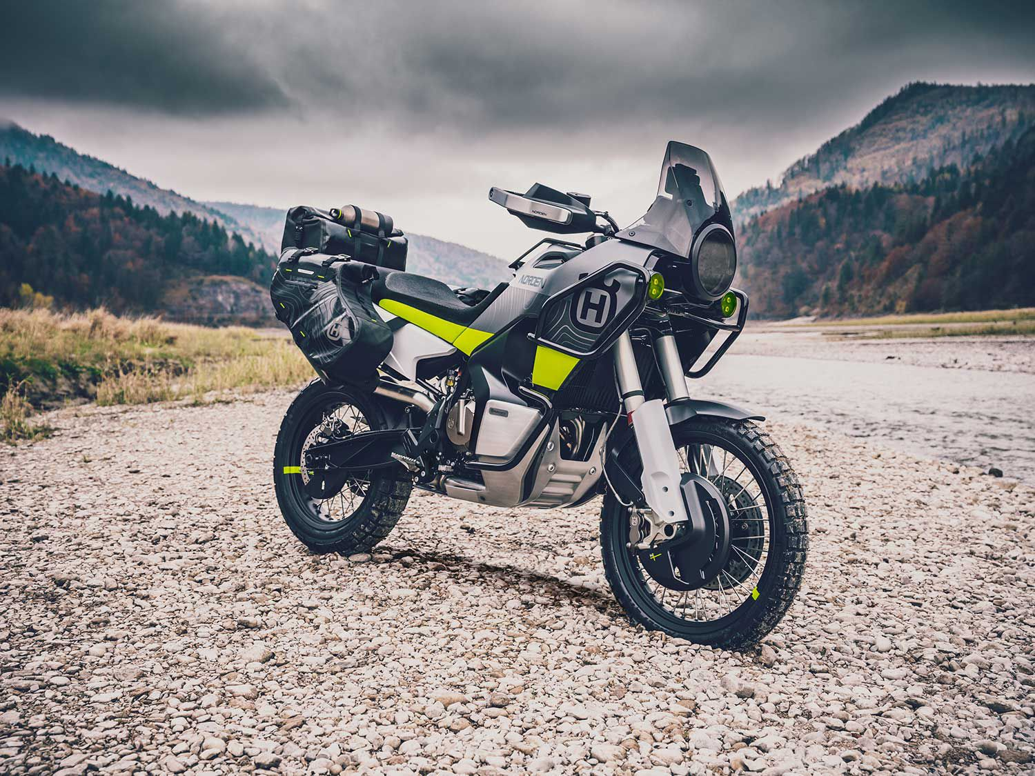 This looks like a fully capable adventure machine.