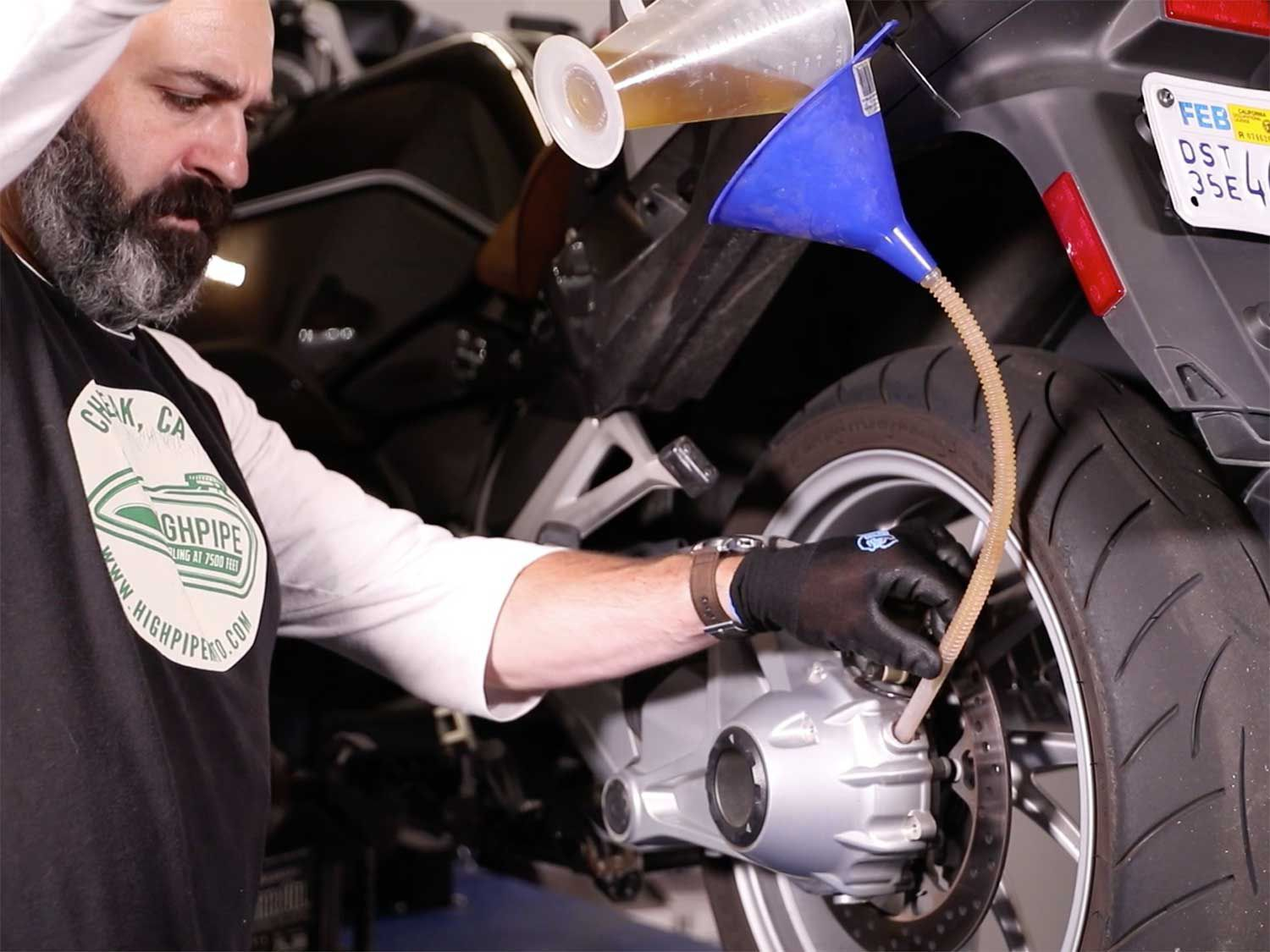 In this episode of <em>MC Garage</em> we show you how to maintain the shaft final drive mechanism on your motorcycle.