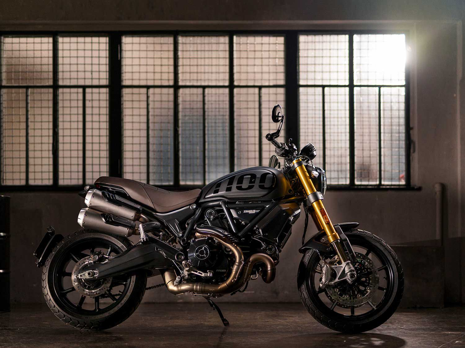 The Ducati Scrambler 1100 Sport PRO will be available in late March, and will start at $15,495.