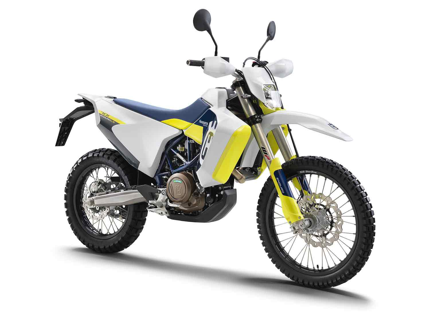 WP Xplor suspension front and rear is fully adjustable and provides 9.8 inches travel.