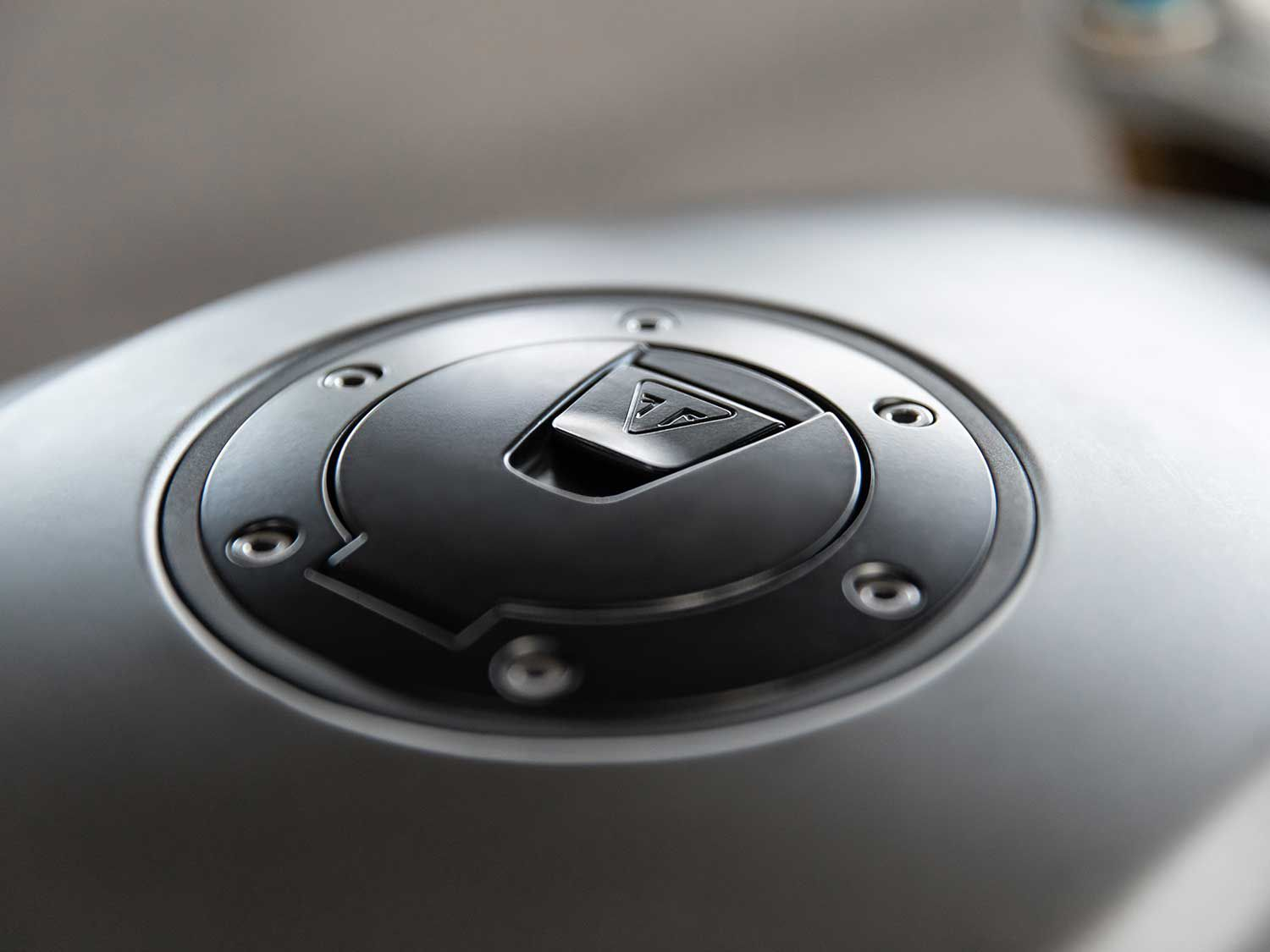 Keyless features extend to the fuel filler cap.