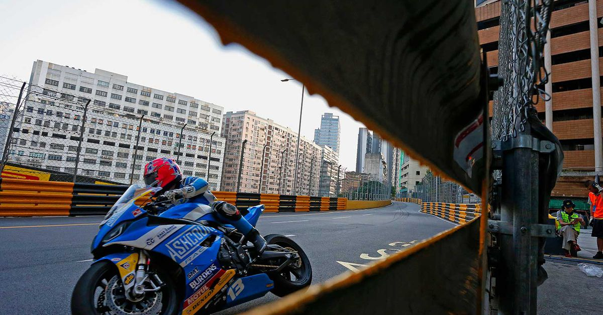 The World's Most Dangerous Motorcycle Road Race—Macau GP