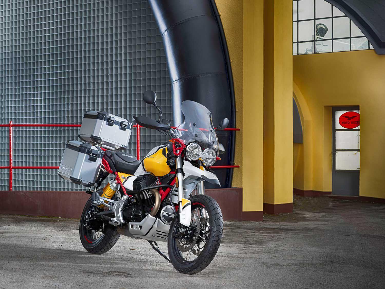 "<a  href=""https://www.motorcyclistonline.com/2020-moto-guzzi-v85-tt-adventure-mc-commute-review/"">2020 Moto Guzzi V85 TT Adventure <em>MC Commute</em> Review</a>"