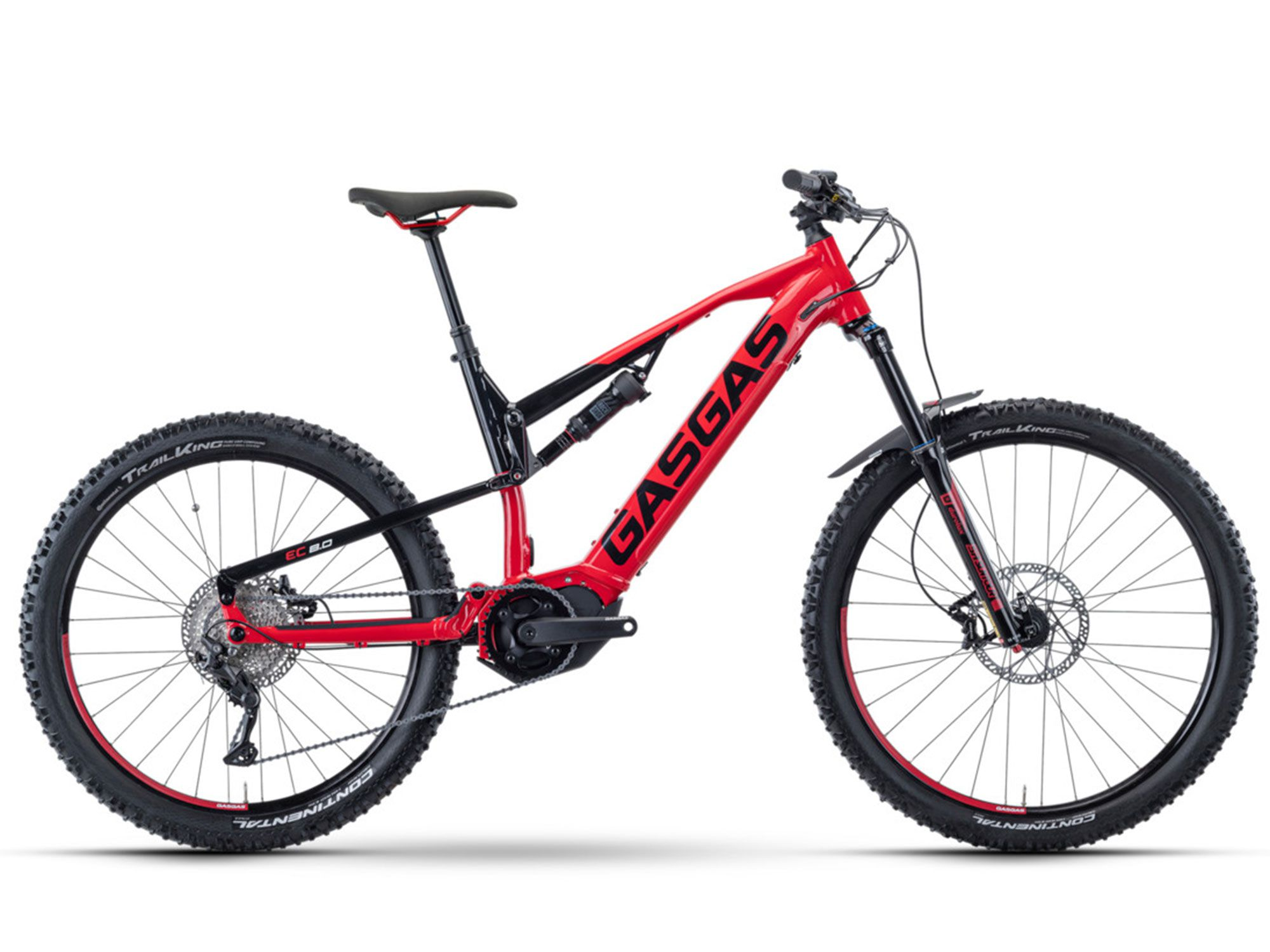 The Enduro Cross 8.0 is the most affordable entry in the 2021 GasGas Enduro Cross family.