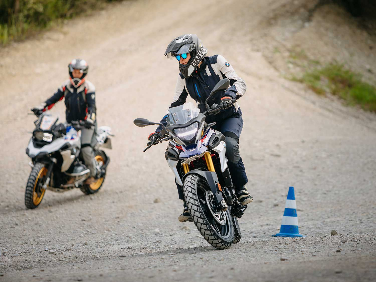 If you're looking to boost your off-road adventure chops, the G 310 GS is a good machine to use.