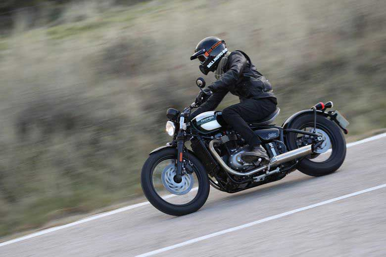 Triumph's Bobber brings a new take on cruiser motorcycles, melding the popular bobber style with the historic Bonneville platform.
