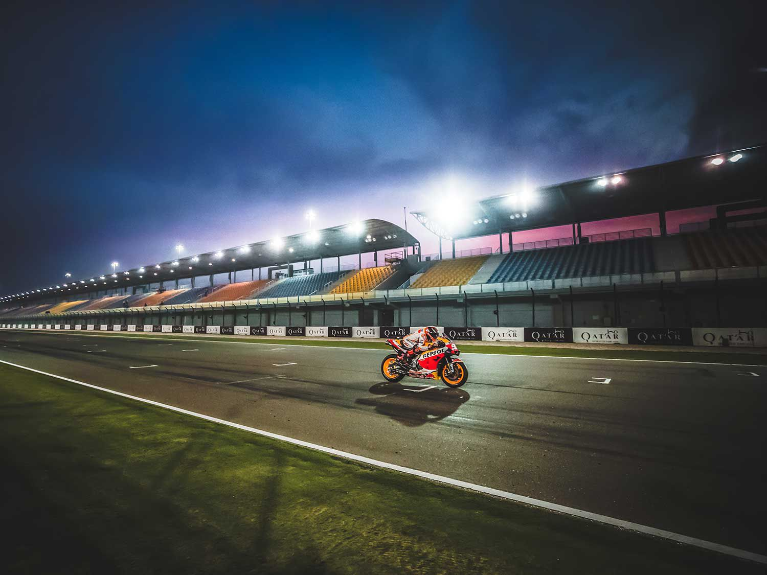 The MotoGP class won't be kicking off the 2020 season under the lights of Losail, as concerns over the coronavirus outbreak have forced officials to cancel the event.