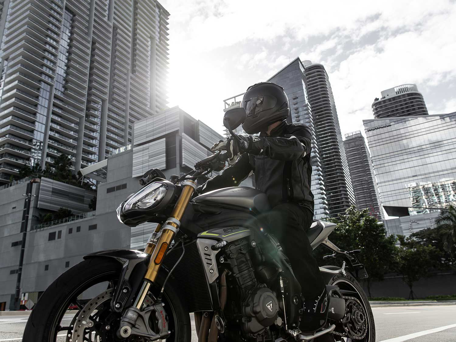 A big step forward for the Speed Triple.