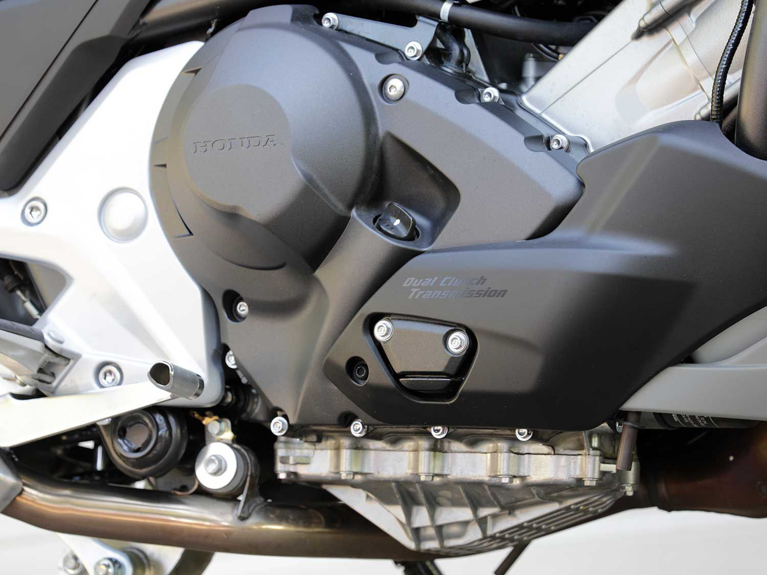 Honda's optional Dual Clutch Transmission makes for an even easier riding experience.
