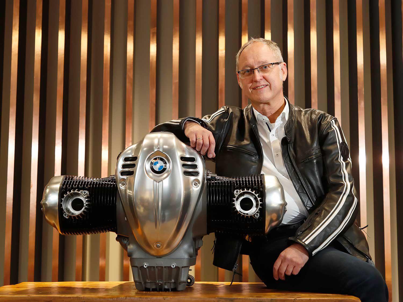 Josef Miritsch, head BMW's Air-Cooled Boxer Series.