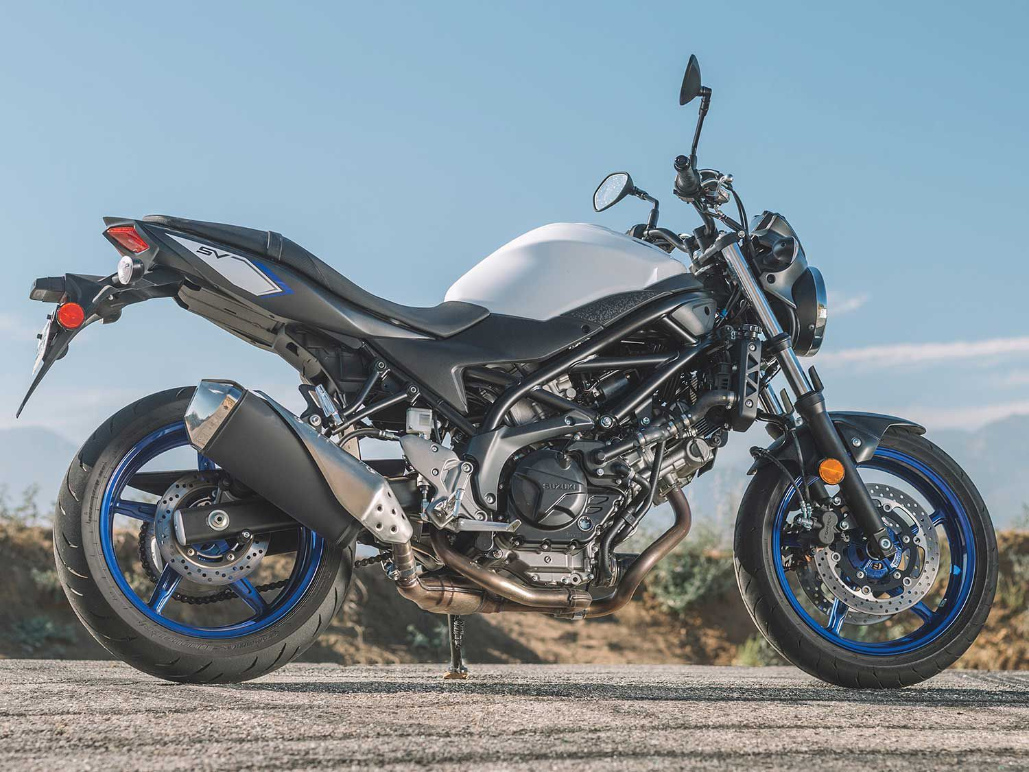 Since 1999, the SV650 has been one of the classic Suzuki names.