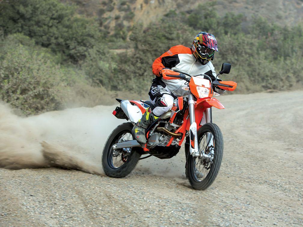 Ktm Dual Sport >> Dual Sport Ktm 350 Exc F Dirt Test Motorcyclist
