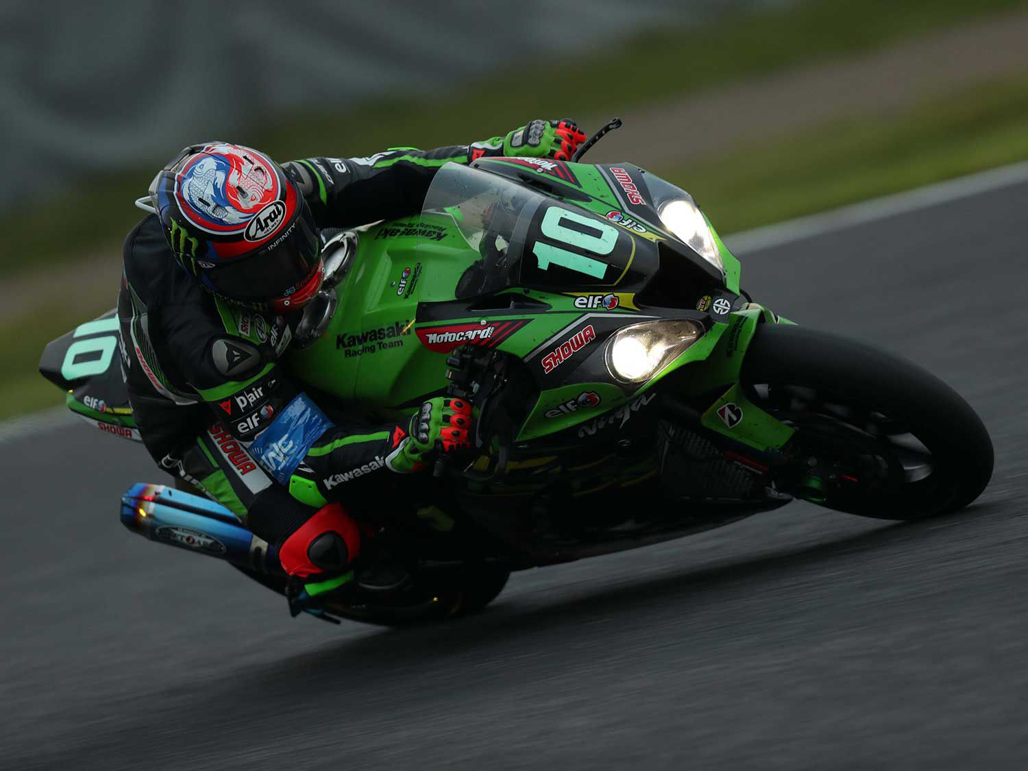 Jonathan Rea was bringing the win home when oil on the track ended his race. The red flag and revised results gave his team the Suzuka 8 Hours win.