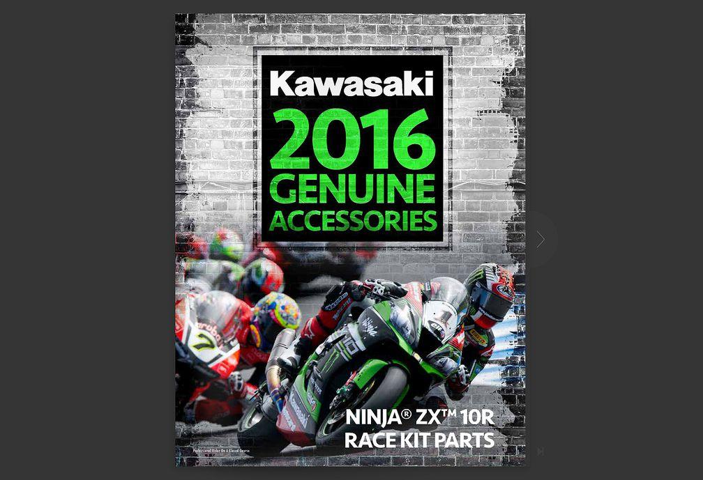 Kawasaki Zx 10r Race Parts Catalog Now Available Motorcyclist