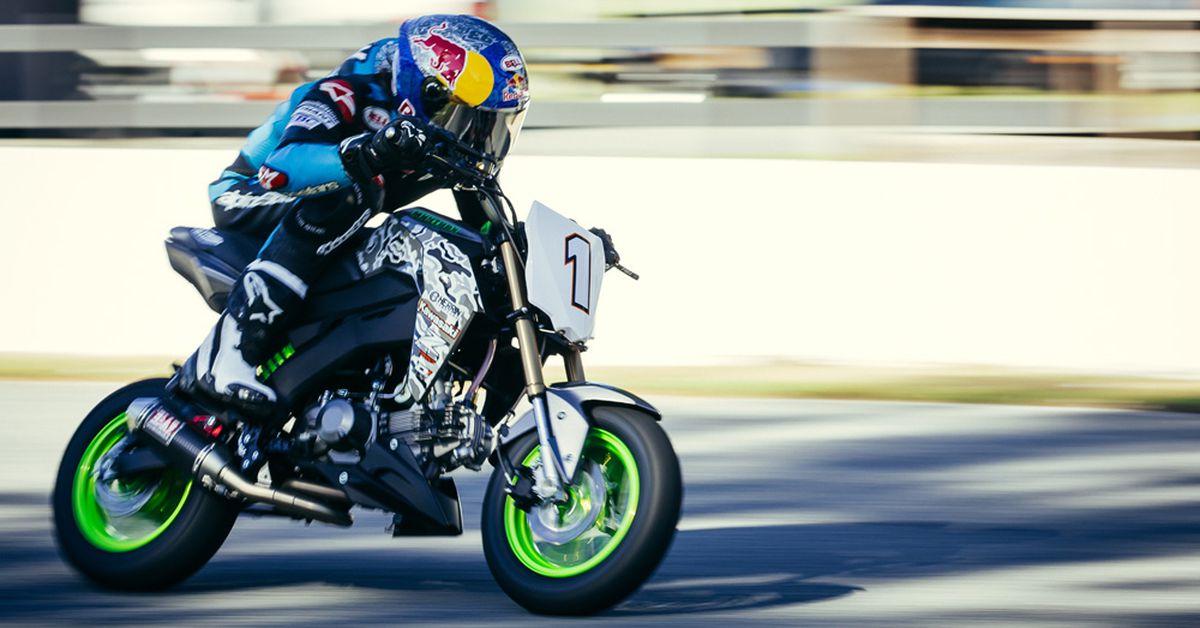 MNNTHBX's Pumped-Up Kawasaki Z125 Pro Track Tool | Motorcyclist