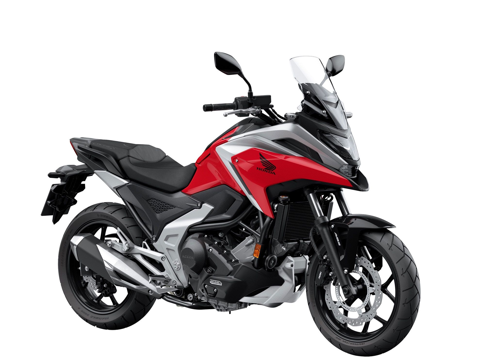 Updates to the NC750X include ride-by-wire, a higher redline, and new engine output settings.