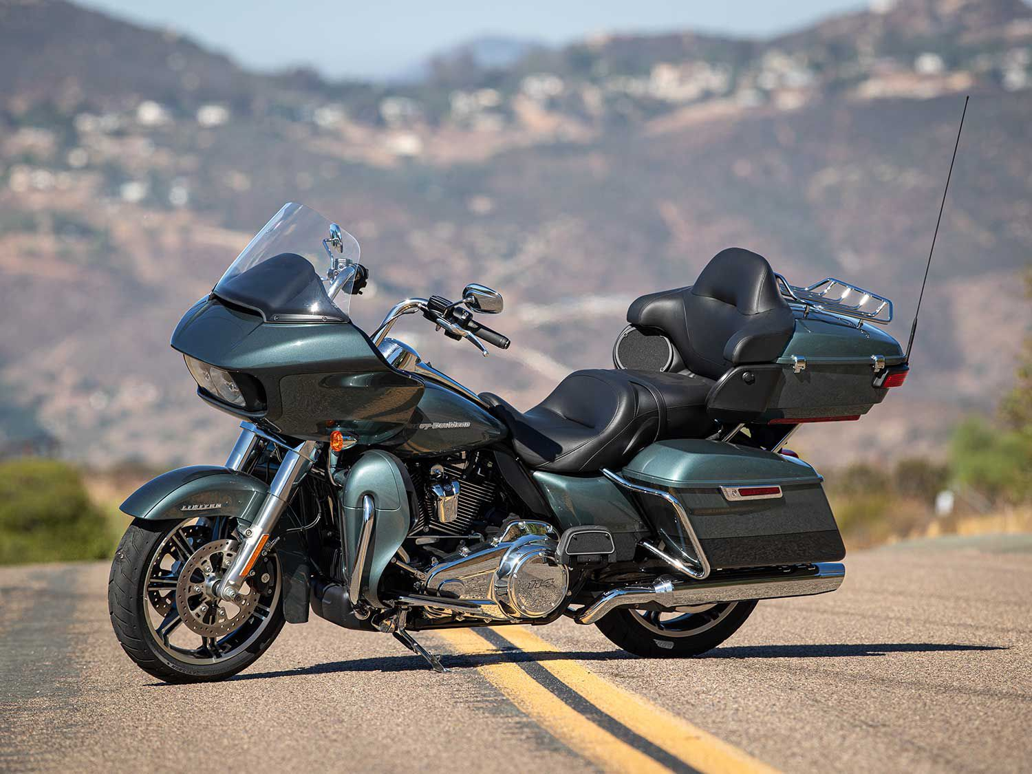 Two-tone paint options for the Road Glide Limited start at $29,349.