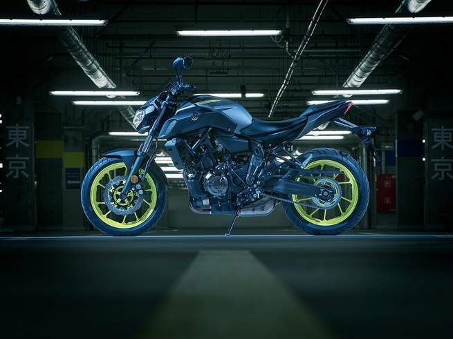 <strong>Yamaha MT-07</strong> <br /> The 31.7-inch seat height of the Yamaha MT-07 makes it a great middleweight option for a short motorcycle rider.
