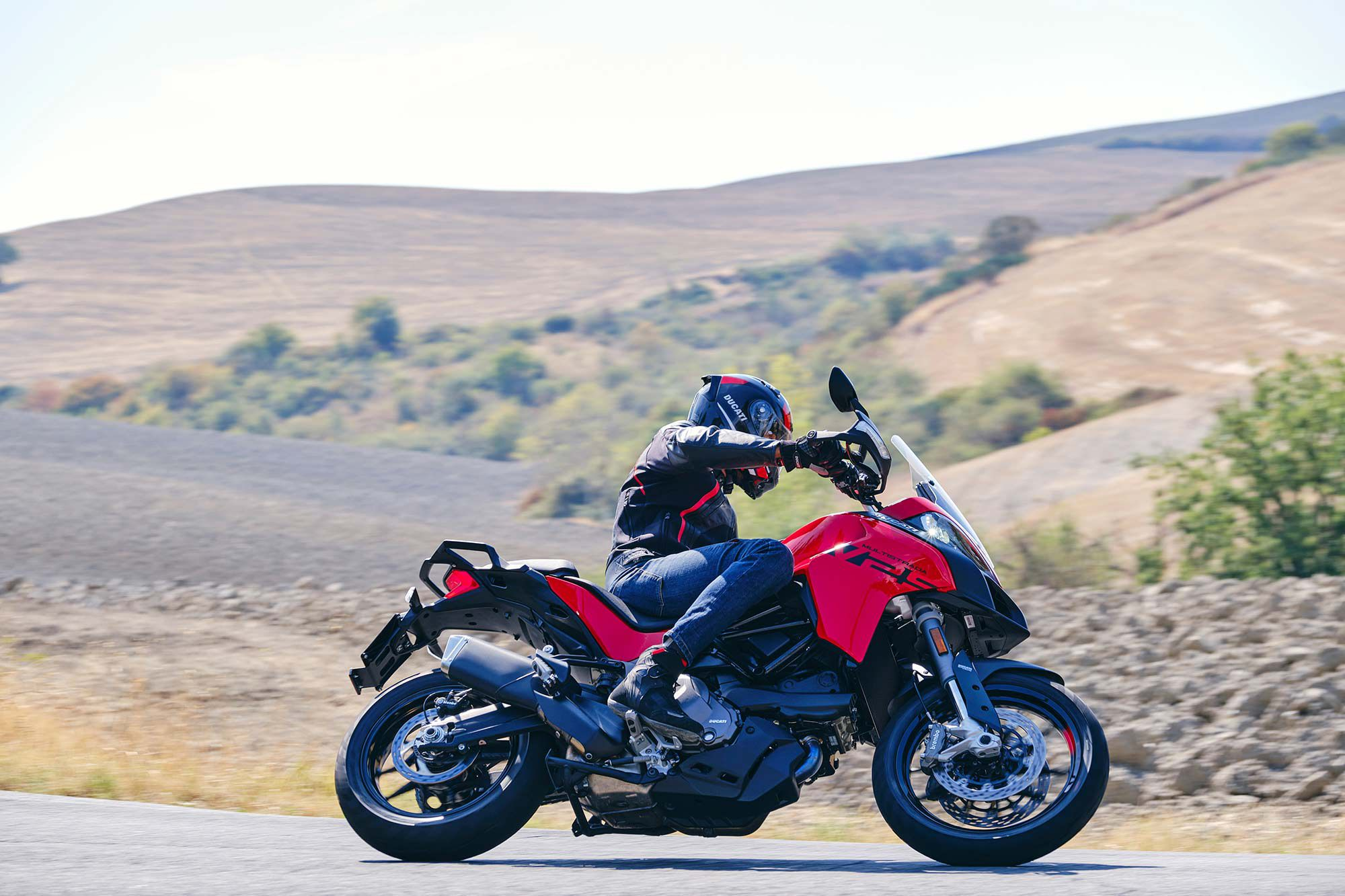 A host of electronic aids including Cornering ABS come standard on both versions of the Multistrada V2.