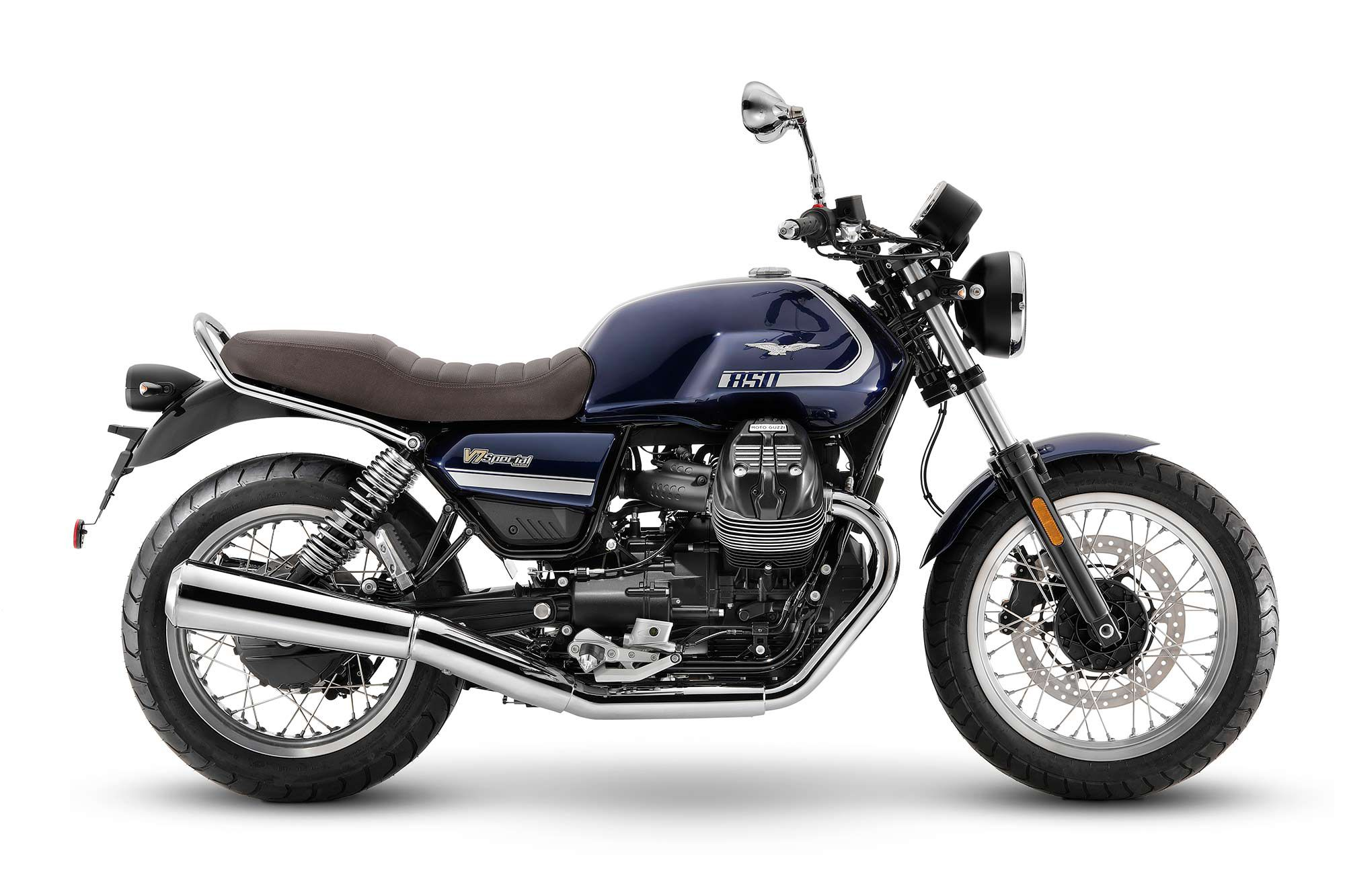 2021 Moto Guzzi V7 Special (Blu Formale).