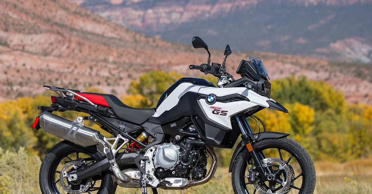 2019 bmw f750gs first ride review | motorcyclist