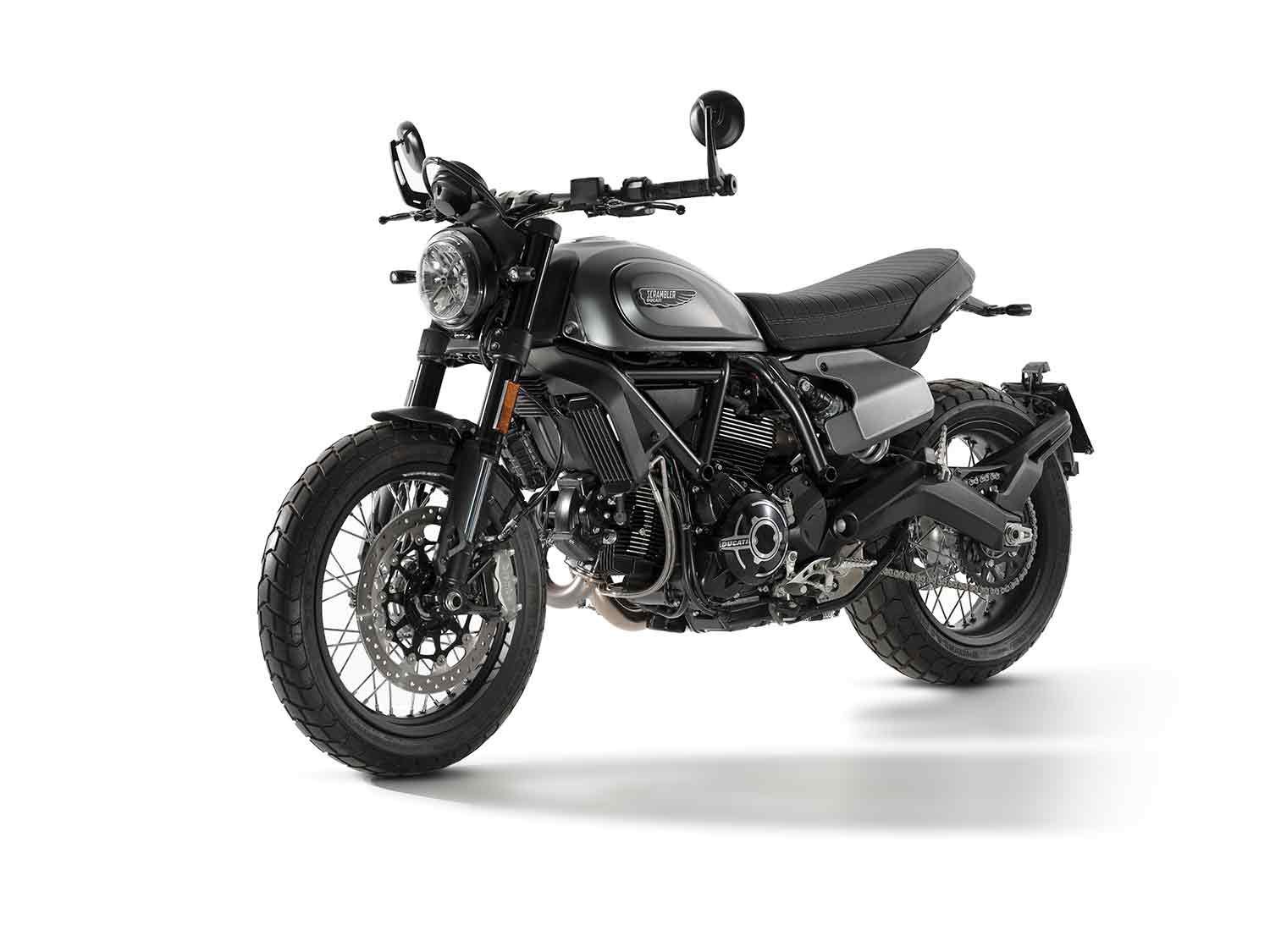 A sophisticated take on the Scrambler.