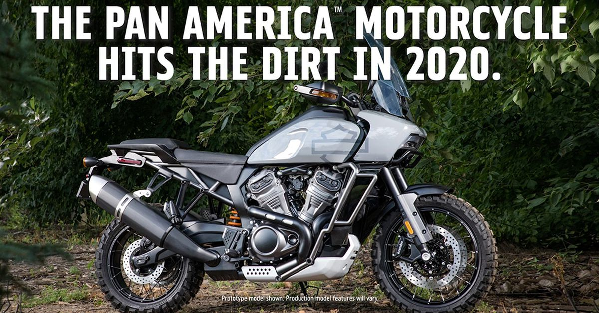 A First Look at Harley-Davidson's 2020 Pan America Adventure Bike