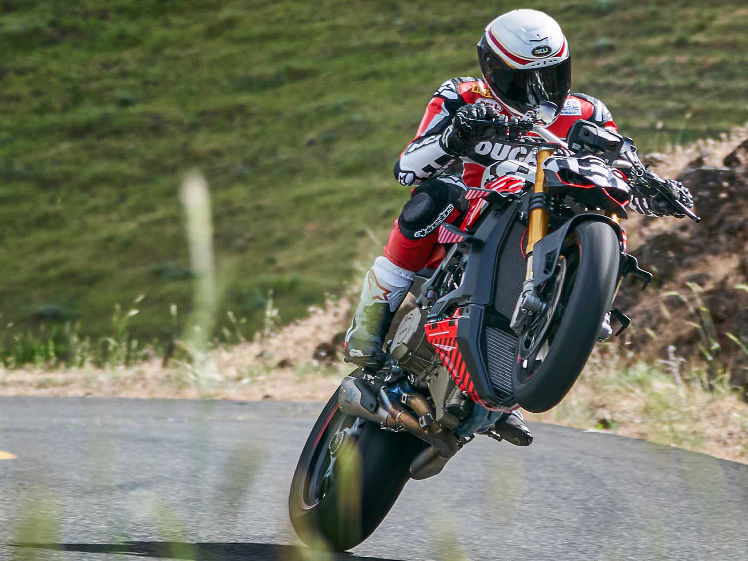 2020 Ducati Streetfighter V4 Prototype First Look