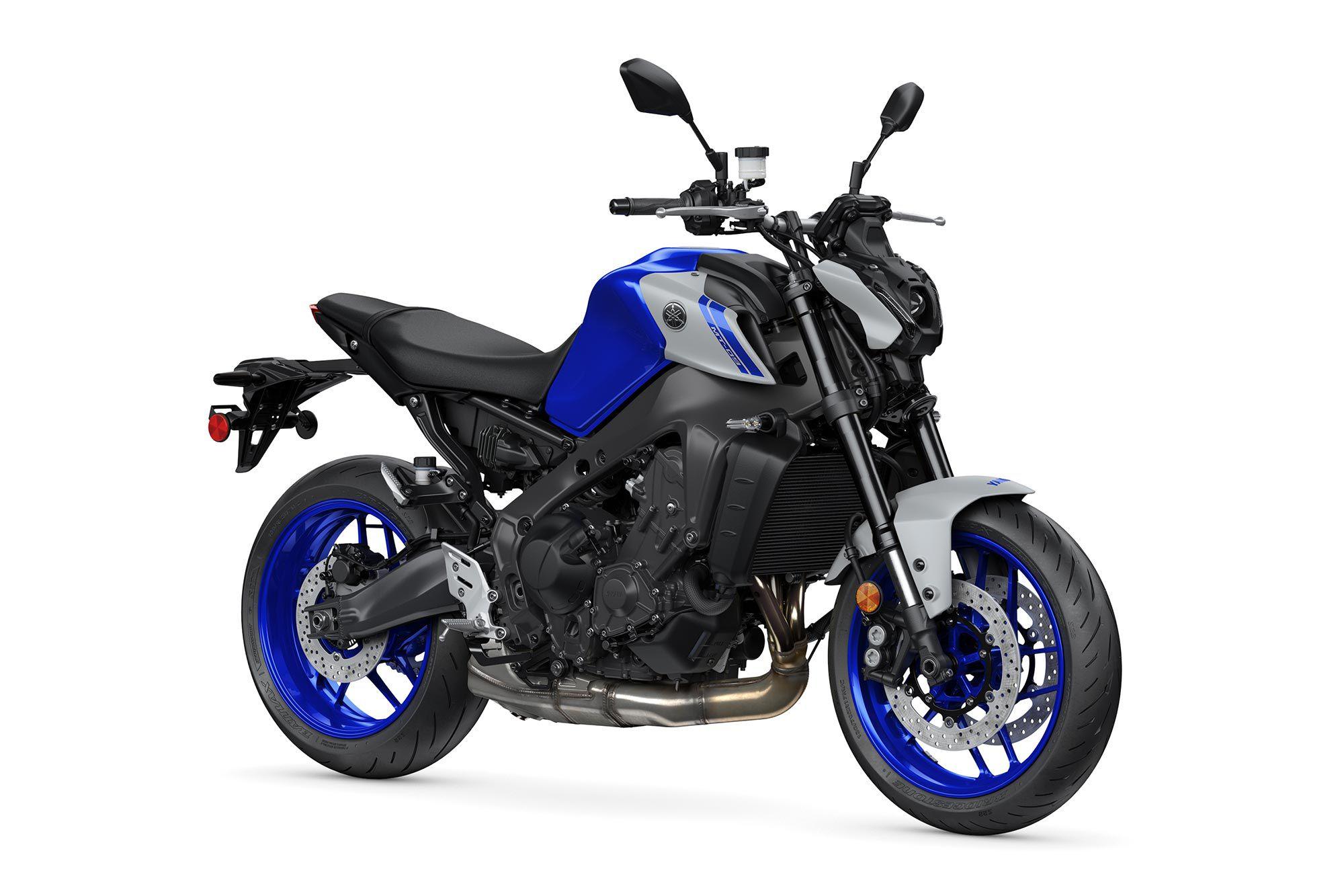 2021 Yamaha MT-09 (Team Yamaha Blue).