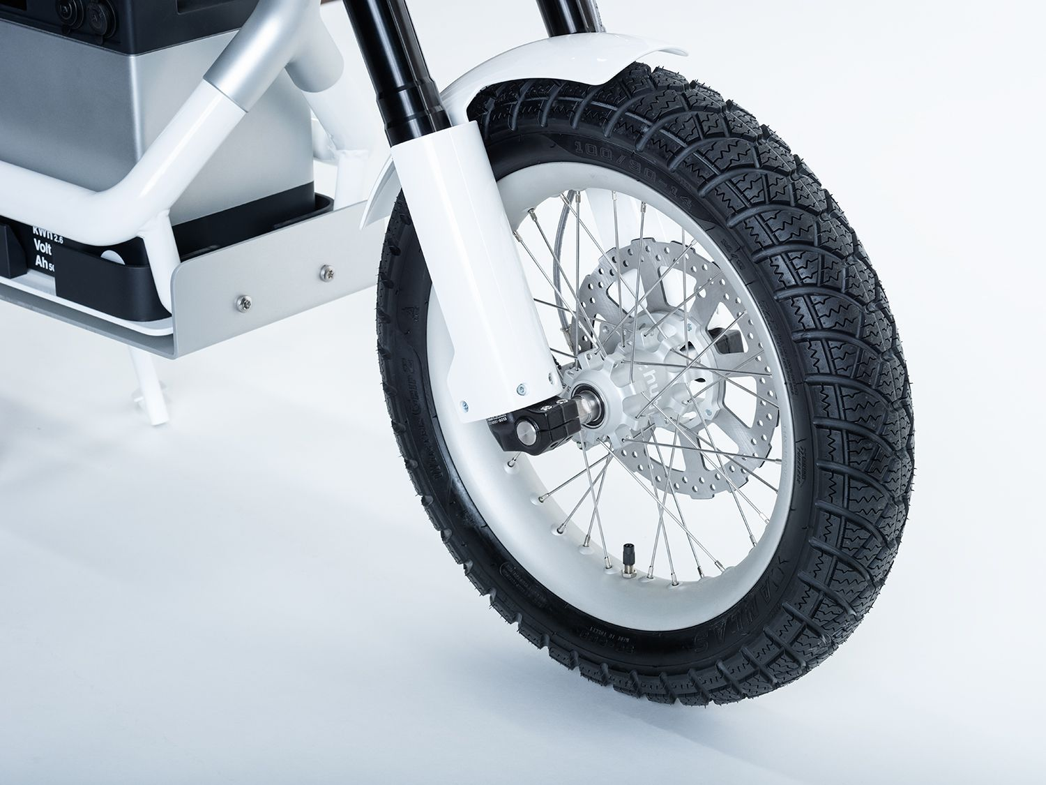 Disc brakes and motorcycle forks.