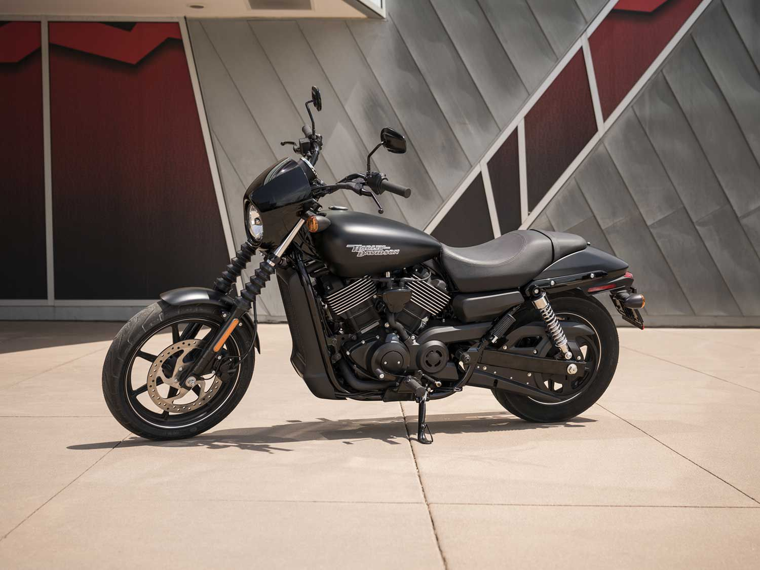 The Street 750 from H-D is more of a medium than a small cruiser.