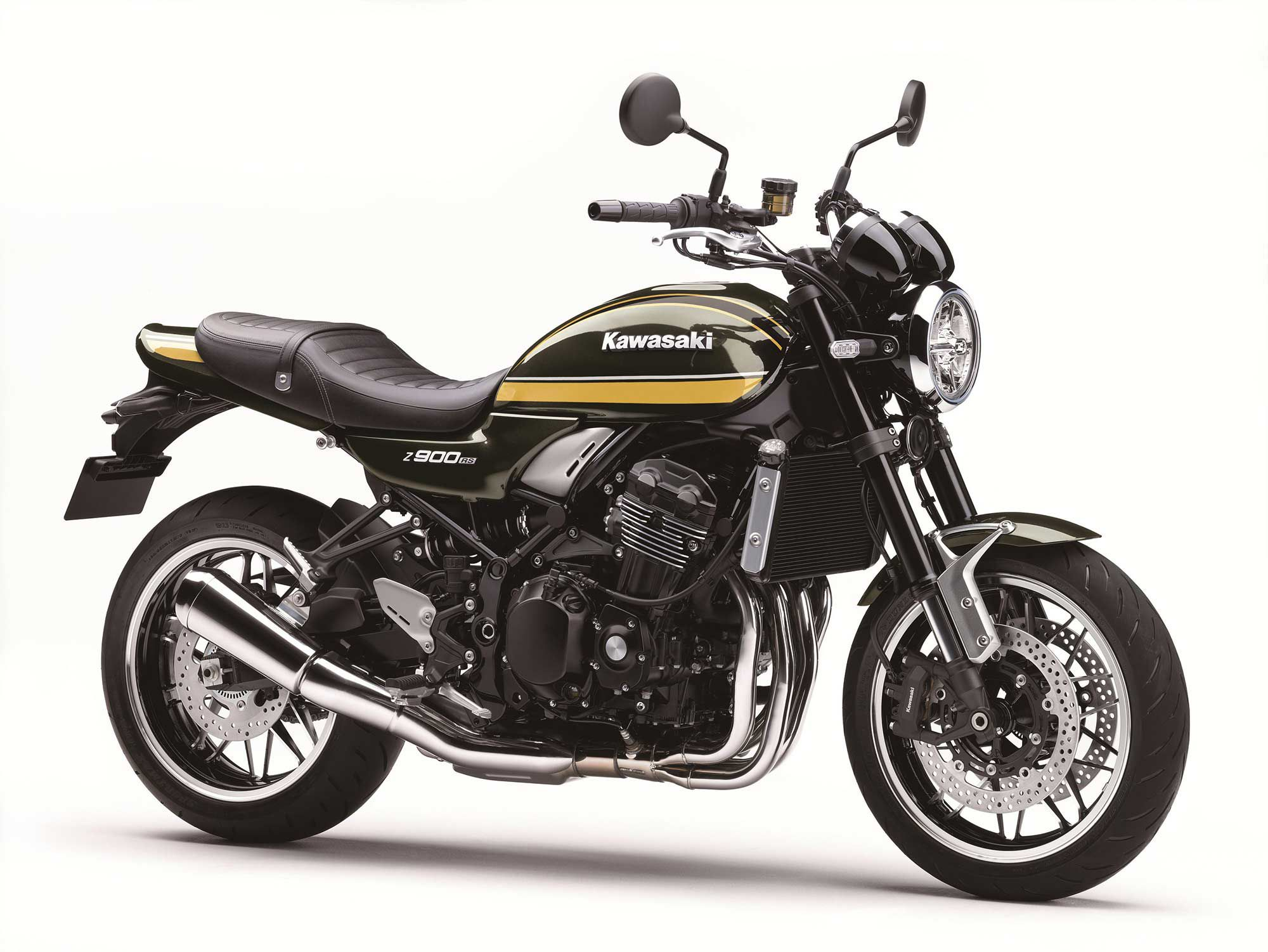 2021 Kawasaki Z900RS.