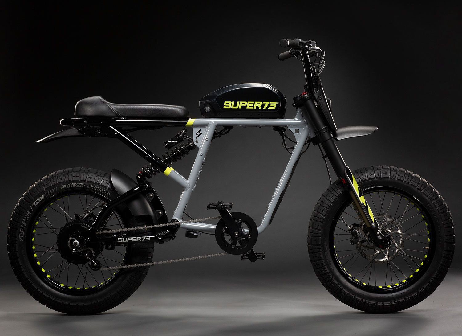 The R-Series Super73 draws inspiration from 1970s-era Taco minibikes.