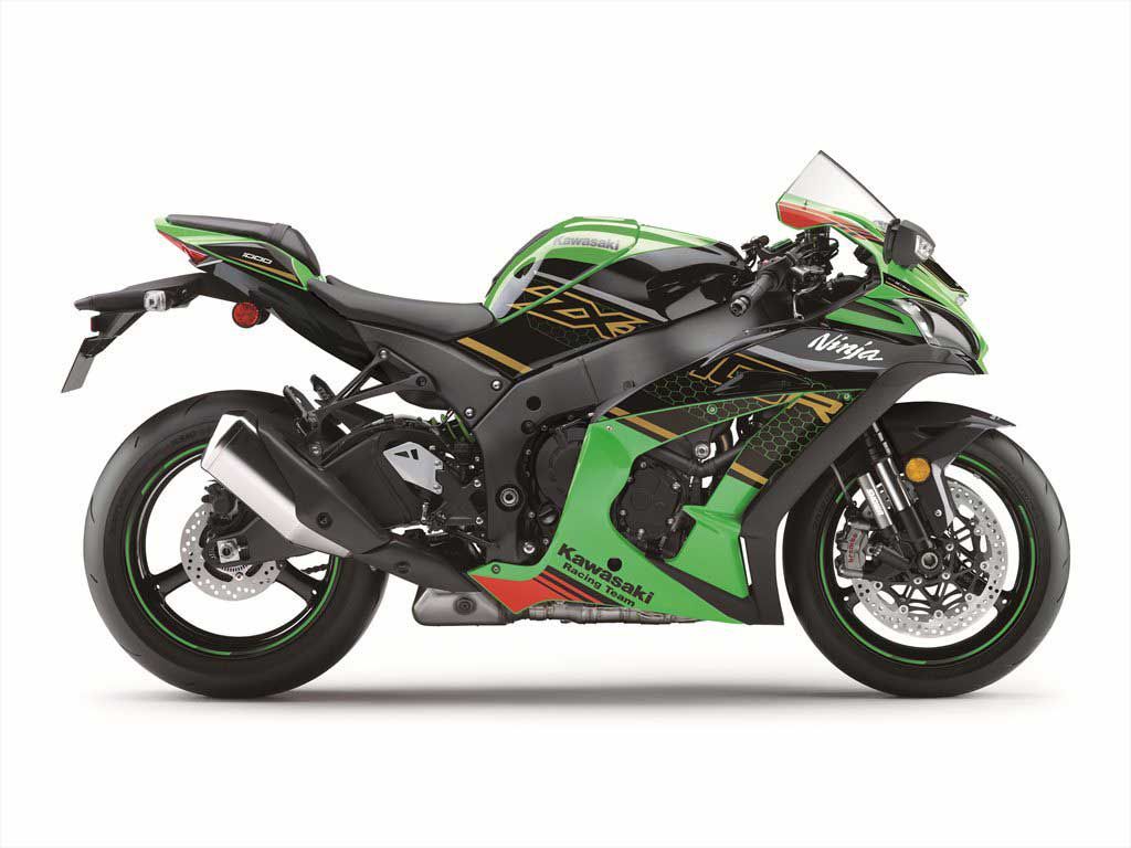 The Bosch IMU combined with the latest version of Kawasaki's dynamic modeling software, and electronic management technology helps riders tap into the full potential of the ZX-10R on the track.