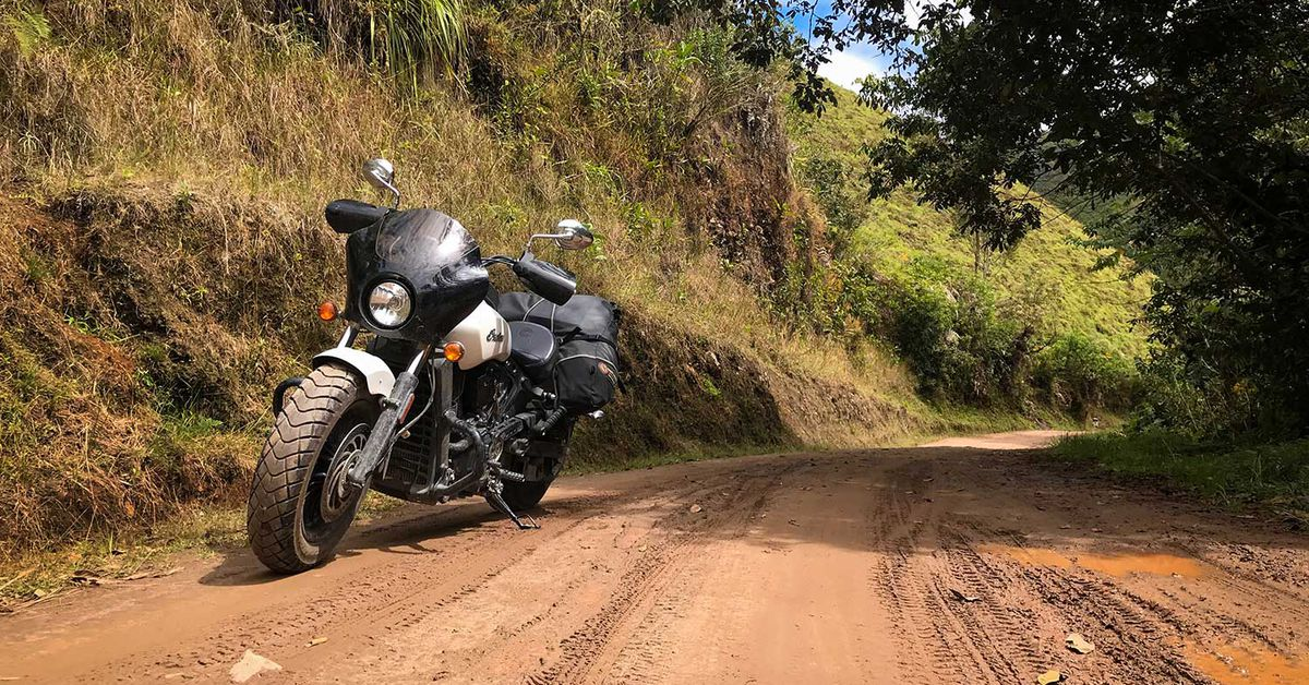 Adventure Riding An Indian Scout Sixty In The Jungles Of Peru