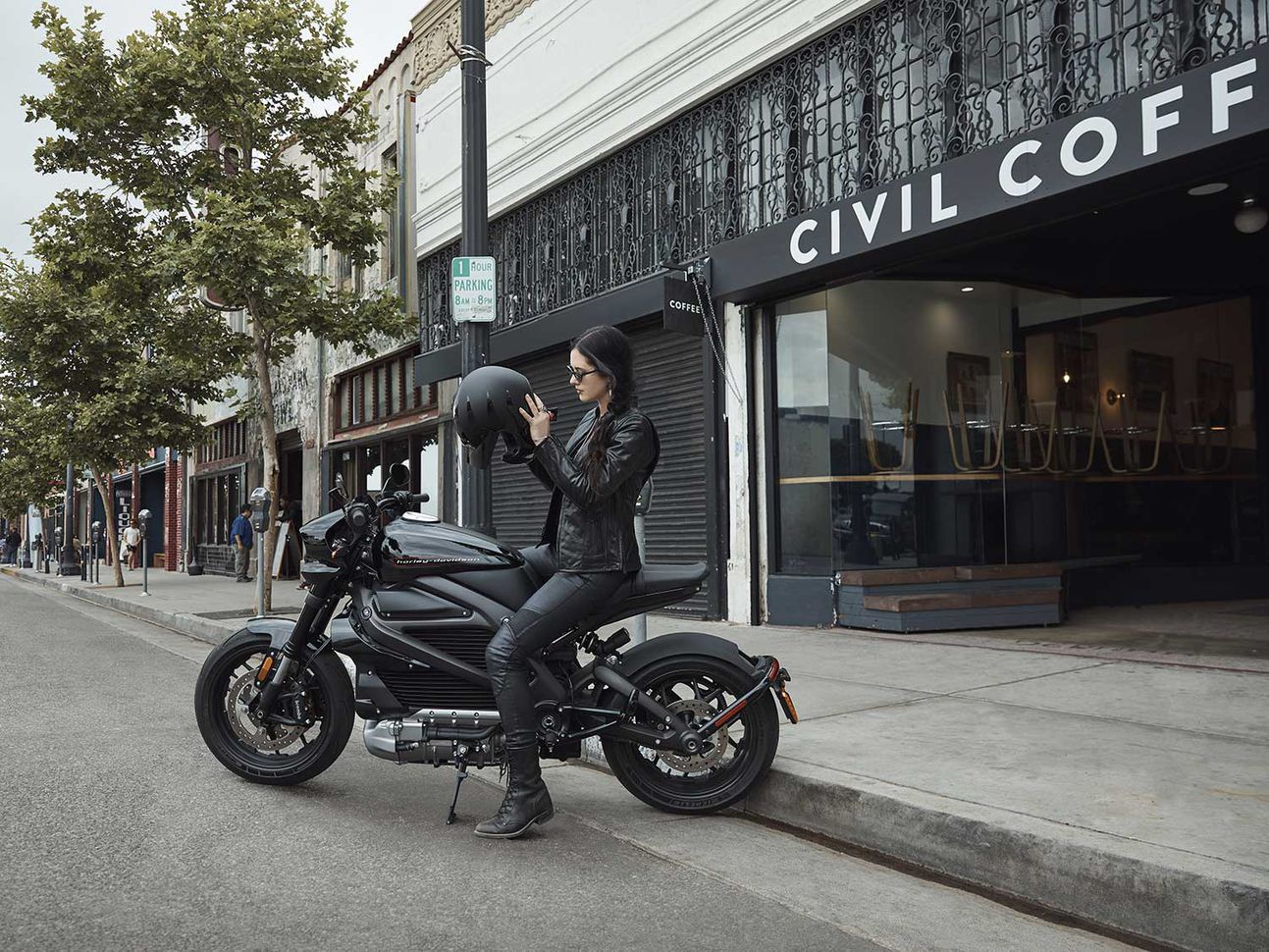 Never having to worry about stopping for gas is one advantage of the LiveWire. The technology suite of rider-assistance equipment makes for a safer, more enjoyable commute.
