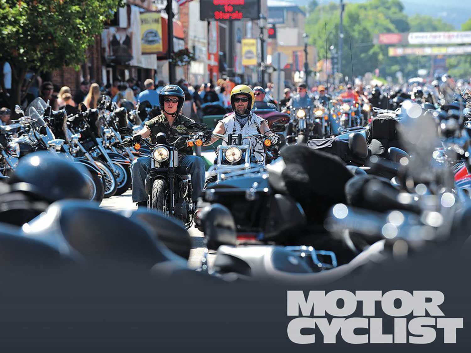 The crowds at Sturgis always seem to start out with a ride down Main Street. After that, it's time to go buck wild and have some fun.