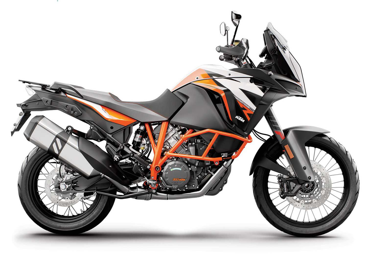 The KTM 1290 Super Adventure R has power and performance in excess, and is a bike that will turn heads.