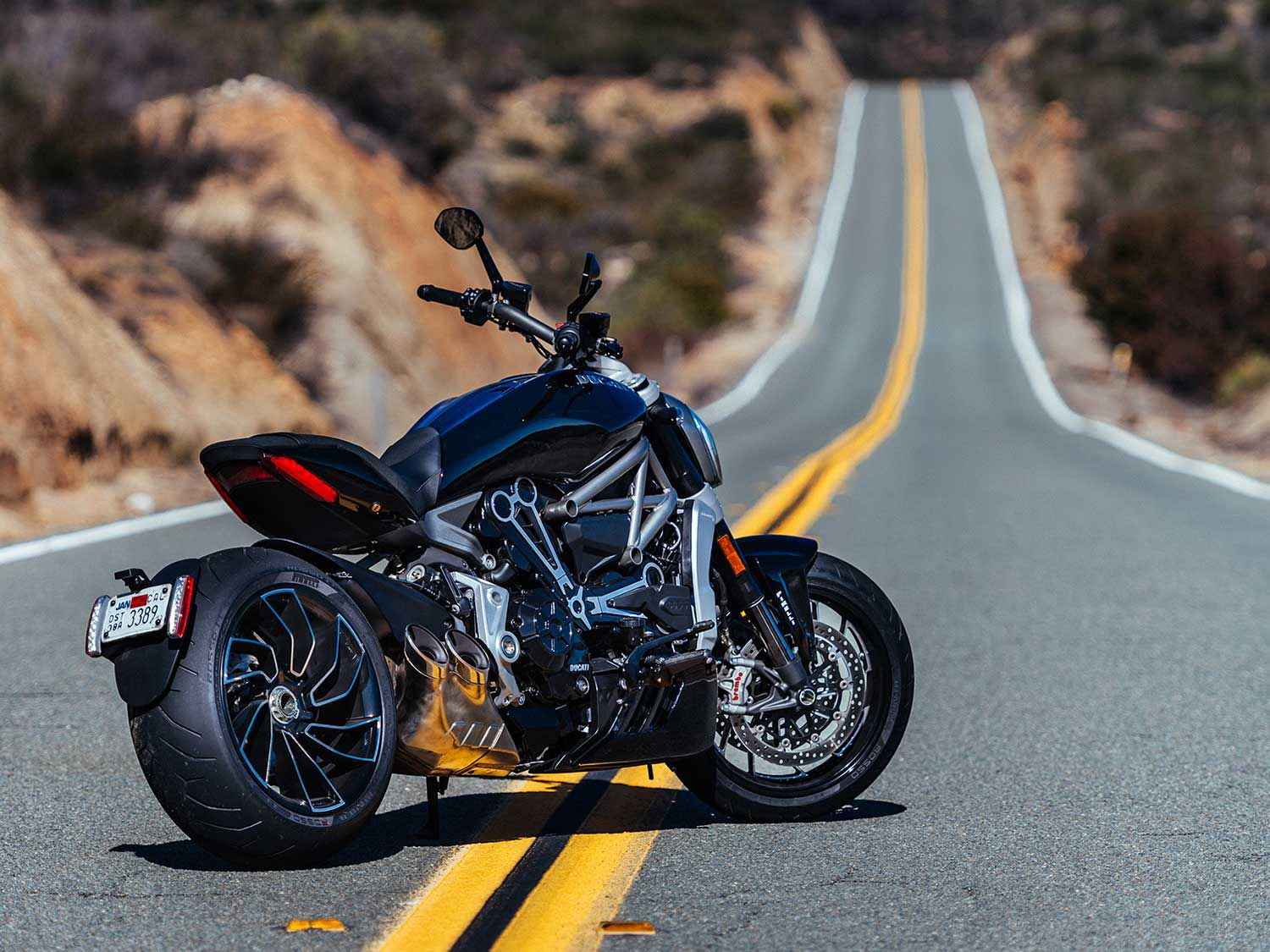 The XDiavel expanded Ducati's cruiser offerings when it debuted in 2016.