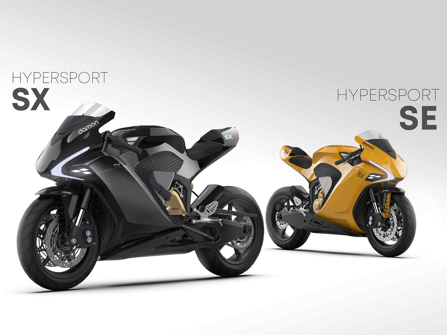 The Damon Motorcycles Hypersport SX and SE can be reserved for $100.