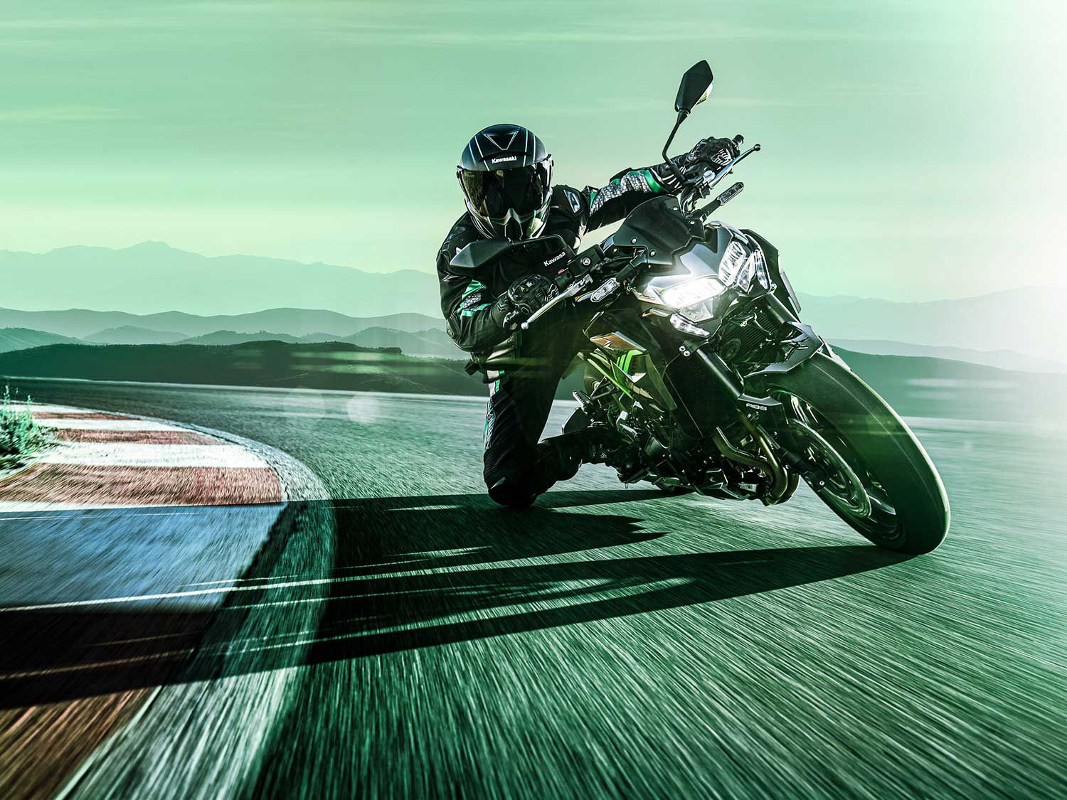 <h2>2020 Kawasaki Z900</h2> </br> The 2020 Kawasaki Z900 is available in Metallic Graphite Gray/Metallic Spark Black for $8,999 or Candy Plasma Blue/Metallic Matte Fusion Silver for $9,299.